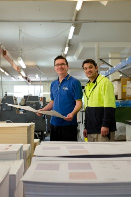 Westcare Paper Recycling - Scott and Josh